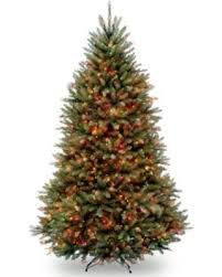 National Tree Company 7 Foot Pre Lit Dunhill Fir Artificial Christmas