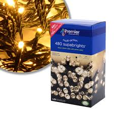Christmas Tree 7ft Amazon by Premier Lv081168ww Supabrights 480 Led Light Warm White Amazon