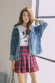 New Design Women Korean Vintage Style Fashion Casual Denim Coat