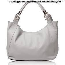 femme oh my bag sac à cuir femme modèle gris clair
