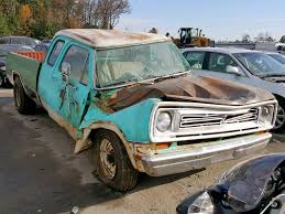 100 1973 Dodge Truck D100 For Sale At Copart Dunn NC Lot 51649518