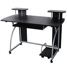 bureau pour ordinateur songmics bureau informatique table informatique meuble de bureau