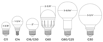 4 can light bulb size light bulb