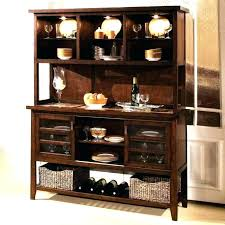 Kitchen Credenza Dining Room Buffet Table Small Sideboard Tall Hutches