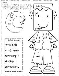 Halloween Multiplication Worksheets 3rd Grade by Halloween Coloring Pages For 3rd Graders Colors Halloween And