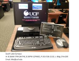 Ucf Sdes Service Desk by Computer Labs With Accessible Technology Student Accessibility