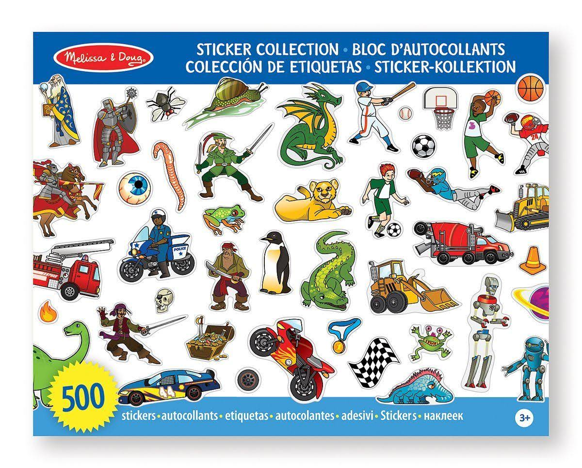 Melissa & Doug Sticker Collection - 500 Stickers