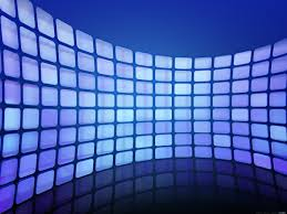 Abstract pixel wave background