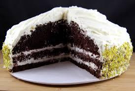 gâteau au chocolat à l américaine et sa crème légère au mascarpone