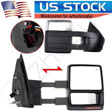 Towing Mirrors Power Heated Turn Signal Chrome Side Pair For 07-14 ... 0708 Ford F150 Lincoln Mark Lt Pickup Truck Set Of Side View Power Flat Black Cap Mirrors Pair Left Right For 11500 Custom Towing Ship From America Walmartcom Buy Penton 32006 Mirror Heated Led Adding Factory Fold Telescoping Tow To 0914 Drivers Manual Pedestal Type Brock Supply 8097 Fd Pickup Manual Mirror Black Steel 5x8 Swing 19992016 Super Duty Rear Inner Door Bottom Cab Vintage Original 671972 Mirrors Left And Right Duty On 9296 Body Style Enthusiasts Forums Pics Trailer Forum Community Amazoncom Scitoo Led Turn Signal Lights Chrome