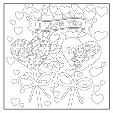 Free Botany Coloring Book Love Pages For Adults Teens Kids Pdf