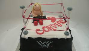 Wwe Raw Cake Decorations by Smackdown Wrestling Ring Cakecentral Com