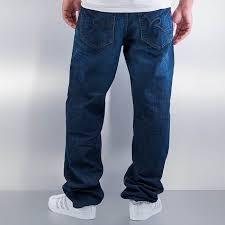 rocawear jeans loose fit tap in blue men r00j9914e855 44 17