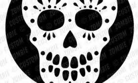 Skeleton Pumpkin Carving Patterns Free by Sugar Skull Carving Patterns Patterns Kid