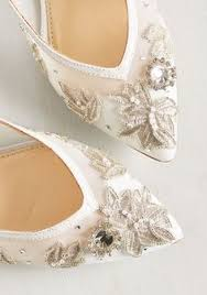 Serving Up The Prettiest Flat Wedding Shoes for 2017