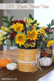DIY Mason Jar Pallet Sign Flowers VaseRustic