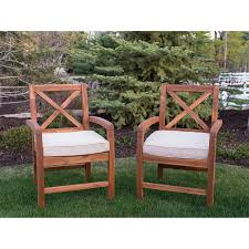 Acacia X-Back Patio Chairs Set Of 2 | Products | Outdoor Chairs ... Vintage Smith And Hawken Teak Outdoor Patio Set Chairish Exterior Interesting And Fniture For Inspiring 36 Wood Folding Chairs Mksoutletus Cheap Ding Find Deals On Line At Garden Emily Henderson Chair Sets Best Rated In Adirondack Helpful Customer Reviews Amazoncom Large Lounge Pair Sale 1stdibs