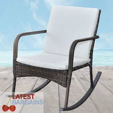 Outdoor Rattan Rocking Chair Garden Arm Chair Seat Patio Deck Rocker ... Gift Mark Deluxe Childs Spindle Rocking Chair In White 90360126 Special Tomato Pediatric Adapted Equipment Soft Touch Available How To Fix Repair Replace Parts Of An Office Chair Antique Seat Replacement And Painted Finish Outdoor Table Set 3 Pieces Poly Rattan Brown Patio Shop Humanscale Freedom Replacement Arm Supports Best Home Furnishings Jive C8209gp Swivel Gliding Rocker Decoration Wooden Parts Small Recliner For Diy Leather Youtube