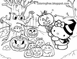 Hello Kitty Happy Halloween Coloring Pages by Lets Coloring Book Hello Kitty Coloring Sheets Free Cute