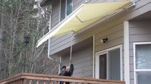ALEKO® Retractable Awning - YouTube Castlecreek Retractable Awning 234396 Awnings Shades At Miami Motorized The Company Residential Commercial Awntech 24 Ft Key West Manual 120 In Latest Canopy Installation News Near Wakefield Ma Sunspaces Jackson Nj 08527 By Shade One Aleko Youtube For Wind Rain All Itallations Repairs Springfield Oh
