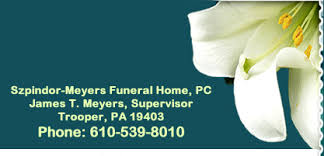 Szpindor Funeral Home in Norristown PA