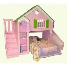 loft bed slide twin loft bed bunk white princess playhouse slide