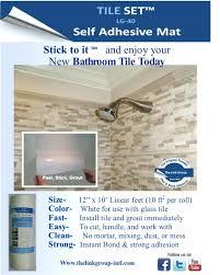 install wall tile backsplash shower wall tile installation peel