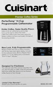 Cuisinart Coffee Maker Bed Bath Beyond by Cuisinart Perfectemp 14 Cup Programmable Coffeemaker Black Dcc