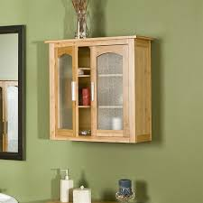 Bathroom Wall Storage Cabinet Ideas by Rustic Wood Bathroom Wall Cabinets With Double Opened Doors And
