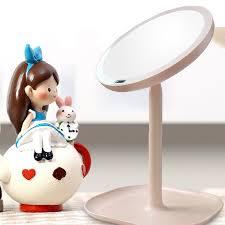 rechargeable motion sensor led light vanity mirror 7x magnifying