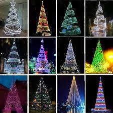Pleasant Idea Spiral Christmas Tree Outdoor 3 Diy Green Outdoors Lights Set