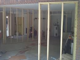 100 Double Garage Conversion Framing Stage Of Corso Homes