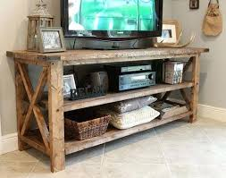 Tv Stand Diy This Console Can Be Used For Your Entertainment Center Sofa Table And Storage