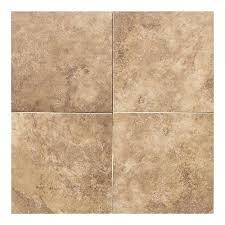 daltile salerno marrone chiaro 12 in x 12 in glazed ceramic