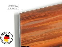 glasbilder wohnzimmer 50x30cm glas bilder geschenk bilder
