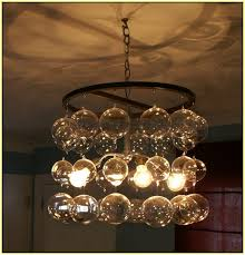 blown glass chandelier home design ideas