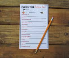 Halloween Scavenger Hunt Clues Indoor by Halloween Scavenger Hunt Halloween Costume Find Halloween