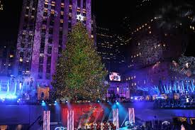 Rockefeller Christmas Tree Lighting 2015 Performers by Rockefeller Center Tree Lit To Kick Off Christmas Season Nbc New
