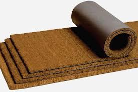 paillasson a la coupe tapis paillasson en coco vendu au mètre tapis brosse pour votre