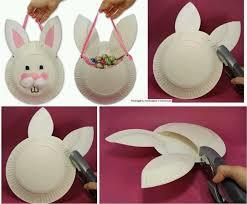 Kids Easter Basket Craft Idea Preschool
