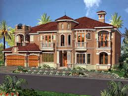 100 German Home Plans Style House Spanish Style S House
