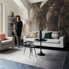 obi grauen teppich textil 240x170cm
