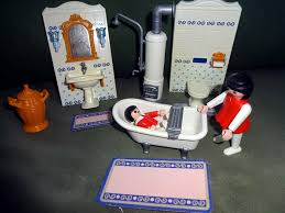 playmobil haus nostalgie badezimmer