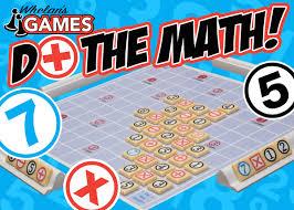 Do The Math Board Game Box Top Design