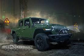 Jeep Wrangler-based Scrambler Pickup Gets Artist's Realistic ...