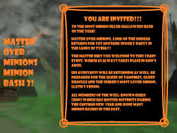 Halloween Wars Wiki by Master Over Minions Minion Bash 3 Guild Wars Wiki Gww