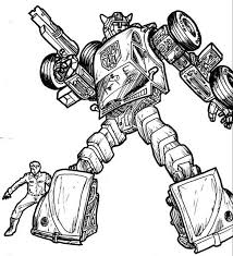 Bumble Bee Transformer Coloring Page