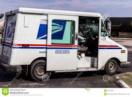 100 Usps Delivery Truck Indianapolis Circa February 2017 USPS Post Office Mail The