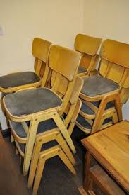 12 School Chairs For GBP120
