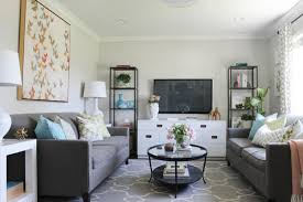 Living Room Decoration Idea By Chic Little House